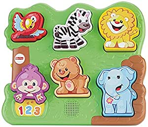 Fisher- Laugh & Learn Zoo Animal Puzzle