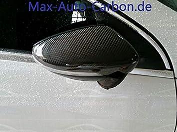 Carcasa de carbono para espejos retrovisores, compatible con Scirocco Passat Beetle EOS CC: Amazon.es: Coche y moto