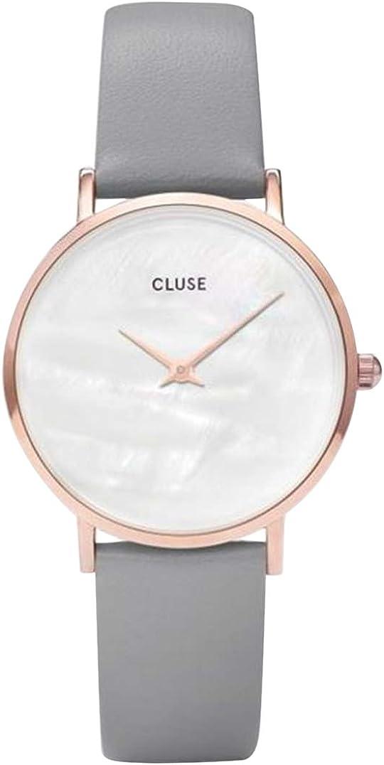 CLUSE Reloj Analógico para Mujer de Cuarzo con Correa en Cuero CL30049