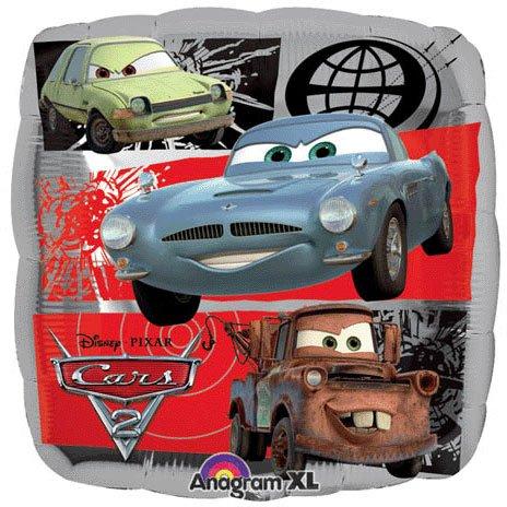 Disney Cars 2 Birthday Party Supplies Mylar Balloon 18inch, Health Care Stuffs