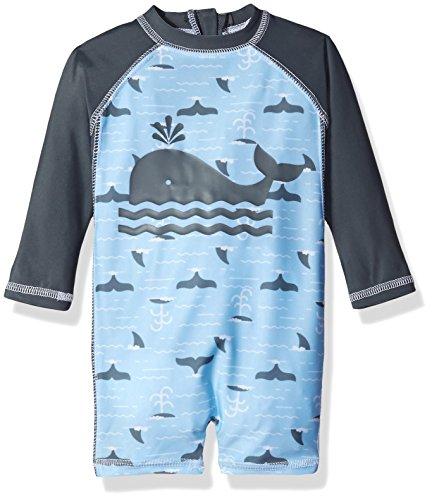 Swim Baby Boys Infant Whale Rashguard product image