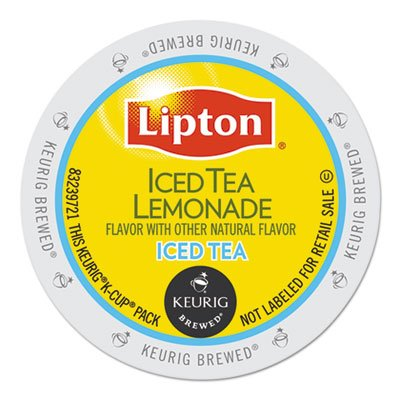 Lipton 6528 Iced Tea Lemonade K-Cups