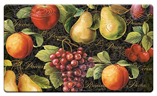 Counter Art 'Gourmet Fruit' Anti Fatigue Floor Mat, 30 x 20