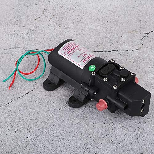 Liineparalle Gartenbewässerung Elektrische Sprühwasserpumpe Praktische Hochdruckpumpe Landwirtschaftliches Zubehör 12V MEHRWEG VERPAKUNG