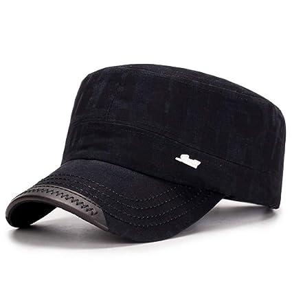 Shaoqingren Sombreros Militares de Moda para Hombres, Mujeres ...