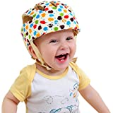ELENKER Baby Children Infant Adjustable Safety Helmet Headguard Protective Harnesses Cap Colorful