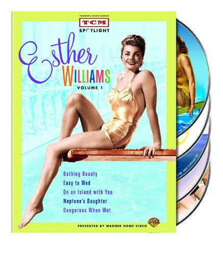TCM Spotlight: Esther Williams, Volume One (Bathing Beauty / Easy to Wed / On an Island with You / Neptune's Daughter / Dangerous When Wet) - Neptune Collection