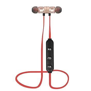 Gamogo Auriculares Bluetooth 4.1 Auriculares Deportivos al Aire ...