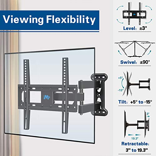 Full Motion TV Mount for 26-55 Inches TV, Corner TV for sale  Delivered anywhere in Canada