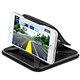 Magicmoon Car Phone Holder Nonslip Pad Dashboard Mat Cell Phone Desktop Stand Mount Holder Cradle Dock Universal for Smartphones Table PC GPS