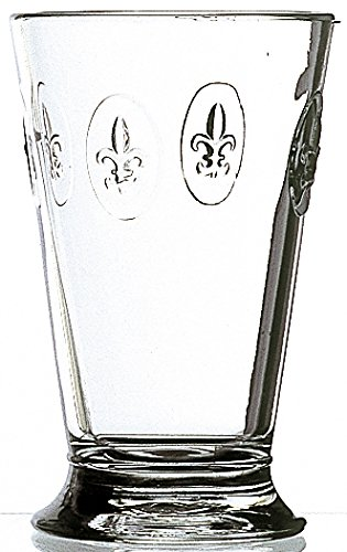 La Rochere Set Of 6, 12-ounce Fleur De Lys Double Old Fashioned Glasses