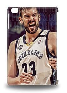 Shock Dirt Proof NBA Memphis Grizzlies Marc Gasol #33 3D PC Case Cover For Ipad Mini/mini 2 ( Custom Picture iPhone 6, iPhone 6 PLUS, iPhone 5, iPhone 5S, iPhone 5C, iPhone 4, iPhone 4S,Galaxy S6,Galaxy S5,Galaxy S4,Galaxy S3,Note 3,iPad Mini-Mini 2,iPad Air )