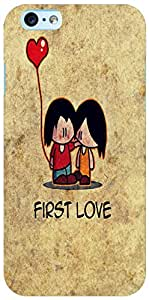 PrintVisa 3D-IPHONE6S-D7852 First love Case Cover for Apple iPhone 6S