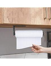 Keukenrolhouder, Keukenpapierhouder zonder boren, Papierrolhouder wandmontage, Wandrolhouder papierrolhouder, Aluminium