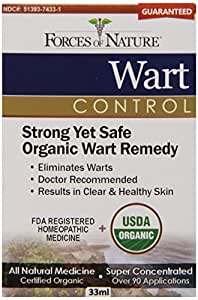 Forces of Nature Wart Control, 33 Gram