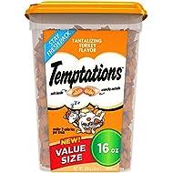 Temptations Classic Treats for Cats Tantalizing Turkey Flavor, 16 oz