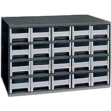 Akro-Mils 19320 20 Drawer Steel Parts Storage Hardware and Craft Cabinet, Grey