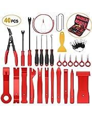 GOOACC 415 Piezas de Clips de retención de Coche y Kit de Cierres de plástico – 19 tamaños más Populares