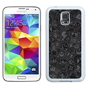New Beautiful Custom Designed Cover Case For Samsung Galaxy S5 I9600 G900a G900v G900p G900t G900w With Tv Vector Art (2) Phone Case