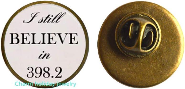 Fairy Tales Art Pin,I Believe in 398.2 Pin,Fairy Tales Brooch,Books Jewelry,Library Brooch-#197