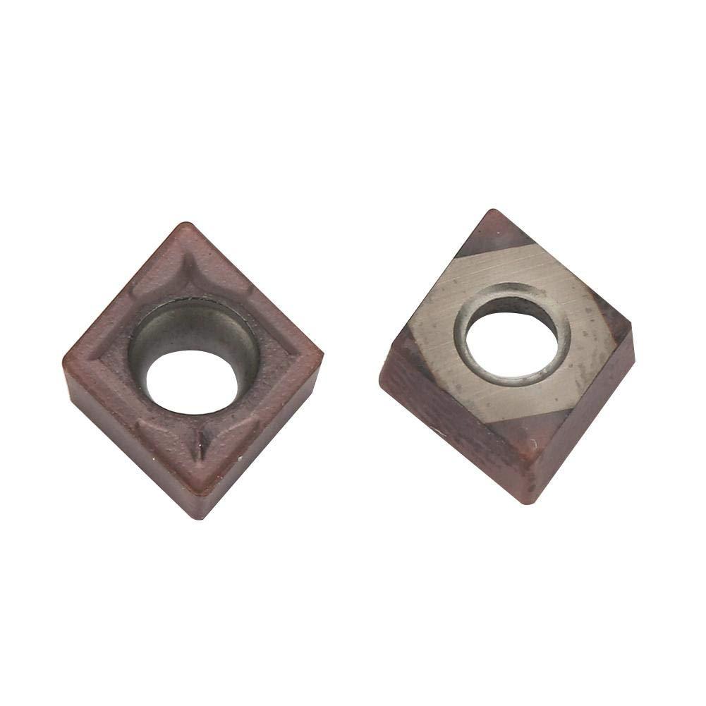 10pcs inserti in metallo duro utensili da tornio tornio fresatura CNC tornio in acciaio al tungsteno