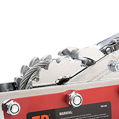 TR Industrial Portable 4-Ton Dual Gear Power Puller: Automotive