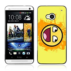 YOYOSHOP [Funny Awesome Smiley LOL MEME] HTC One M7 Case