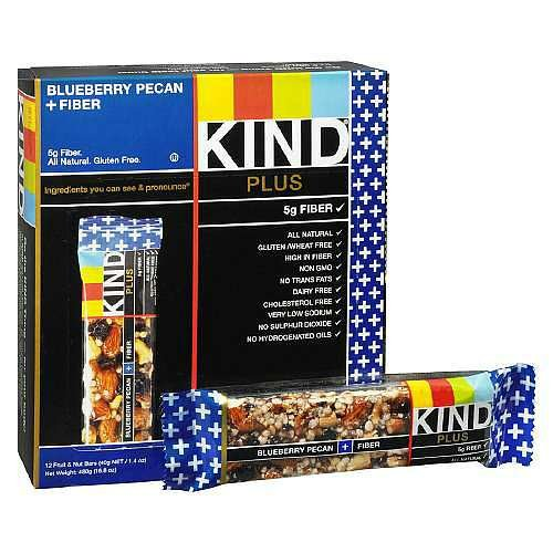 Kind Fruit & Nut Bars Bar Blubry Pcn + Fbr 1.4 Oz by KIND