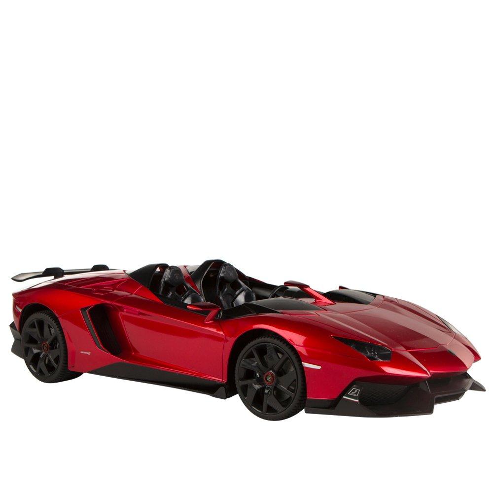 Rastar - Coche radio control 1:12 - Lamborghini Aventador (41105): Amazon.es: Juguetes y juegos