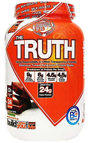 UPC 811123024008, Muscle Elements The Truth Chocolate Bar, 24 Serving