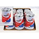 Yoplait Original Blueberry Yogurt, 6 Ounce - 12 per case.
