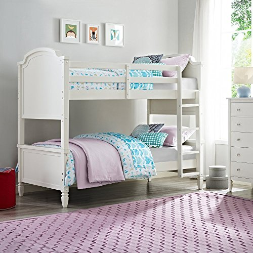 Dorel Living Vivienne Over Bunk Bed Twin White Buy
