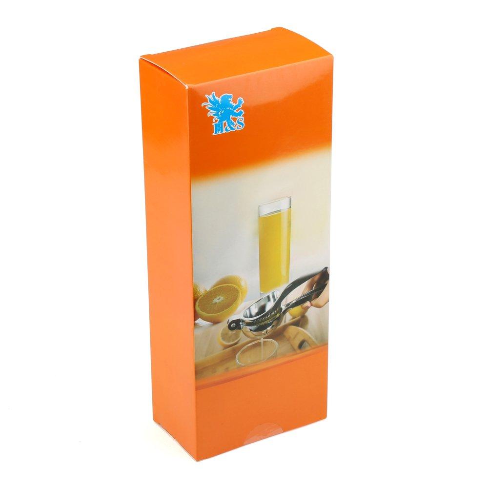 Compra H&S® Exprimidor manual de limones – Heavy Duty – Extractor de zumo, prensa individual a mano de cítricos, exprimidor de fruta en Amazon.es