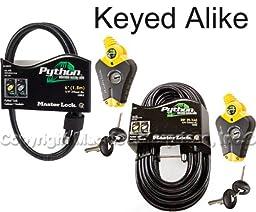 Master Lock - Python Adjustable Cable Locks 1-6ft 1-30ft