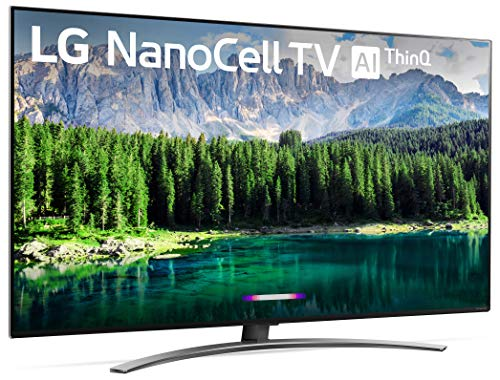 LG 49SM8600PUA Nano 8 Series 49 4K Ultra HD Smart LED NanoCell TV (2019), Black