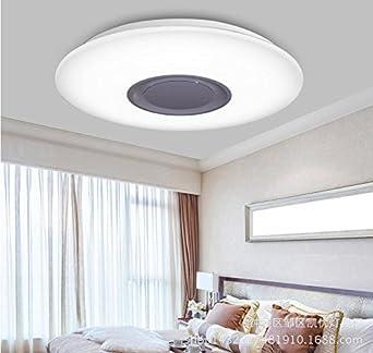 Éclairage Chambre à Coucher, Plafond LED Intelligent Light Control,  Bluetooth Musique, Chambre Simple