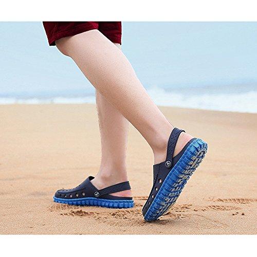 Estate Unisex antiscivolo per adatto Walking Pantofole da Outdoor Doccia Blue Pool tempo libero traspirante giardino Sportivo Zoccoli Sport Beach Sandali il zqrzw8S