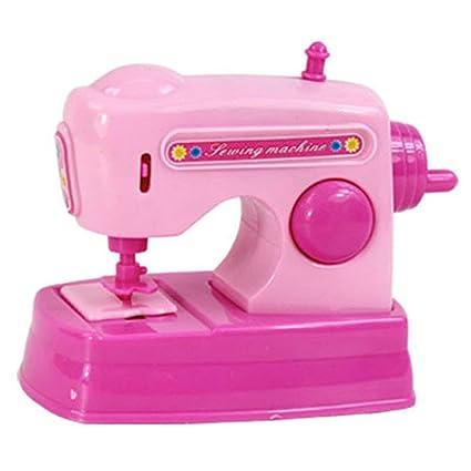 Amazon Wintefei Children's Kids Toy Simulation Mini Sewing Stunning Decor Mini Sewing Machine