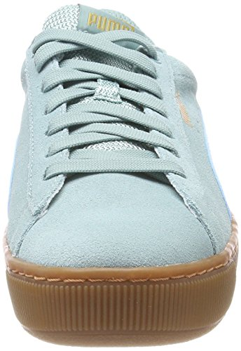 metallic Sneaker Gold Damen Aquifer Grün Vikky Puma Platform q4WYHpZ