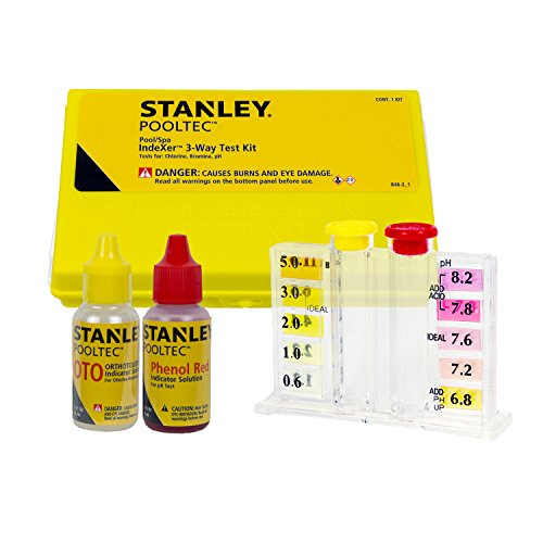 Test Water Way Strips 3 (Stanley 22846 IndXer 3-Way Test Kit with Case)
