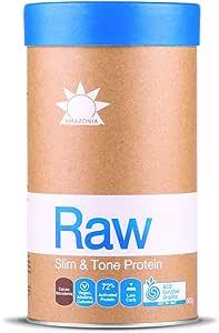 Amazonia RAW Slim & Tone Protein Cacao & Macadamia, 500g