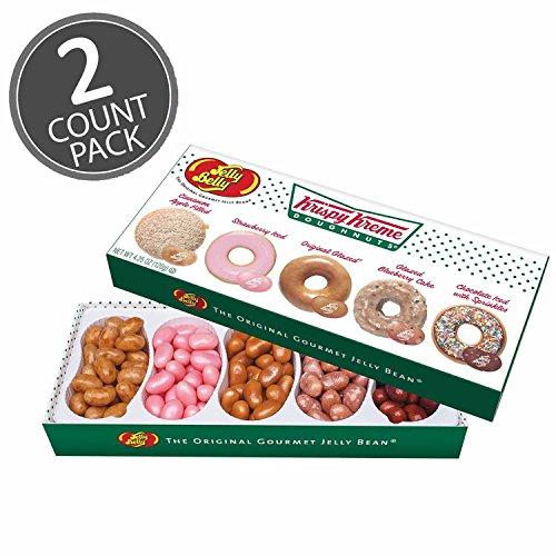 Jelly Belly Krispy Kreme Doughnuts Jelly Beans Mix 4.25 oz Gift Box (2 Pack) (Best Krispy Kreme Donuts)