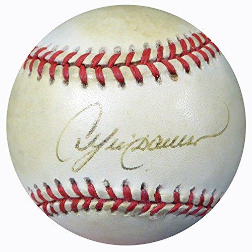 Andre Dawson Autographed Baseball (Andre Dawson Autographed Official NL Baseball Chicago Cubs Beckett BAS #C01867)