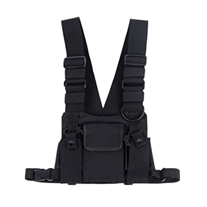 Two Wayrescue Chest Harness Bag Free Universal Holster Hands For Vest Radio Saigain Essentials Rig P8wNnOX0k