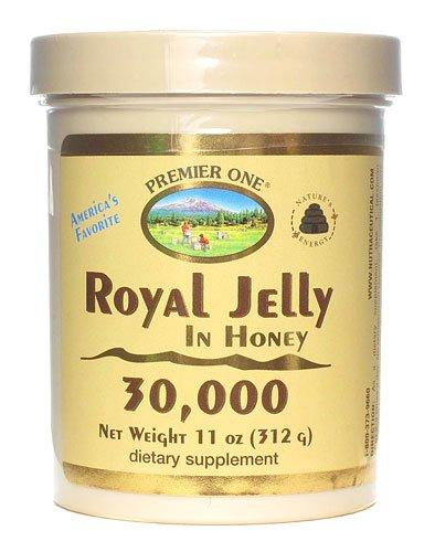 Premier One Royal Jelly in Honey -- 14000 mg - 11 oz - 3PC by Premier One