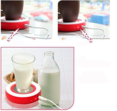 photo Wallpaper of Surborder Shop-Surborder Shop Coffee Mug Warmer Desktop USB Electronics Heat-Red