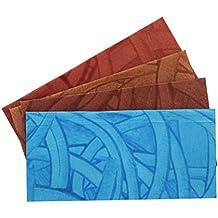 Raksha Bandhan Rakhi Pack of 4 Premium Handmade Shagun Gift Envelope Hand Crafted Money Holder Card Fancy Packet with Velvet Finish