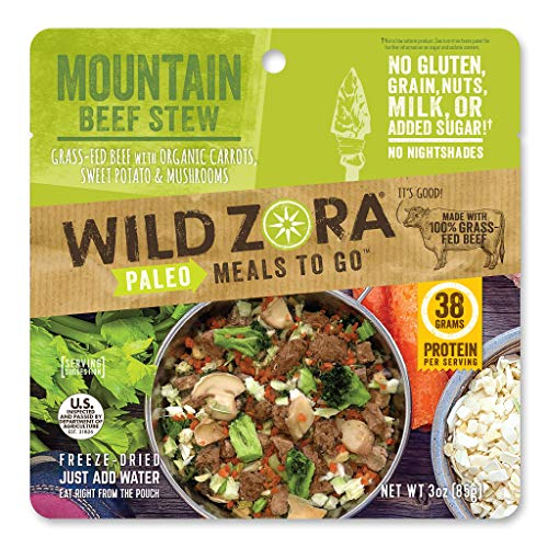 Wild Zora - Mountain Beef Stew - Paleo Meals to Go (single)
