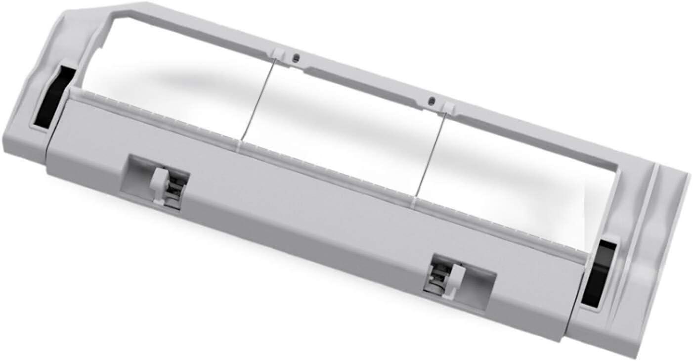 Reemplazo de la tapa del cepillo de rodadura del reemplazo del robot de Xiaomi Robot Reemplazos de la caja de cepillo principal para las piezas del aspirador robótico de Xiaomi (Color: blanco):