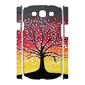 ALICASE Cover Case Tree of Life 3D Diy For Samsung Galaxy S3 I9300 [Pattern-1]